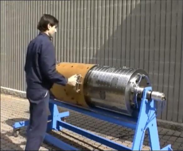 serrapid rotary die cylinder
